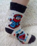 Шерстяные носки и рукавицы оптом от прои