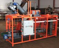 Упаковочная машина в сетку для моркови