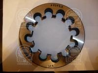 Плашка 75 шаг 1.5 для ремонта резьбы оси