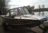 Лодка алюминиевая, катер