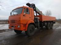 КАМАЗ 43118 бортовой с КМУ
