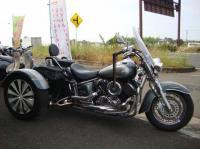 Трайк мотоцикл круизер Yamaha Dragstar 1