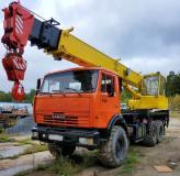 Продам автокран Ивановец, КАМАЗ-43118(6х