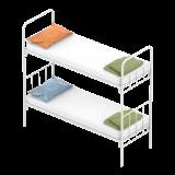 Металлические кровати 190*70, 80, 90 см