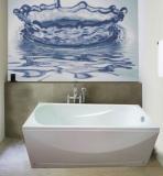 Продам белую акриловую ванну