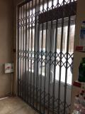 Раздвижные решетки АМРА-М для дверей, ок