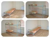 Кровати металлические для рабочих, общеж