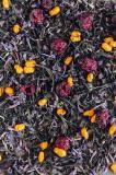 Иван чай с соцветиями, облепихой и вишне