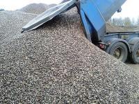 Щебень песок другие строительные материа