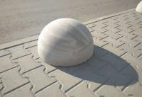 Бетонная полусфера d400хh300 мм