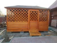 установка дачных домиков