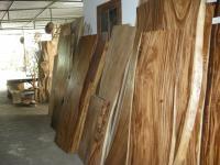 Слэбы и спилы из реликтовой древесины