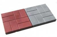 Тротуарная плитка 8 кирпичей 400х400х50