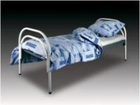Со сварными сетками кровати металлически