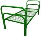 Железные, металлические кровати с ЛДСП