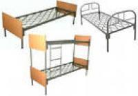 Кровати металлические с лестницами