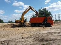 доставка песка щебня и других стройматер