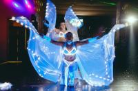 Световое неоновое шоу на свадьбу праздни