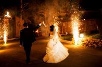 пиротехника на свадьбу праздник огненное