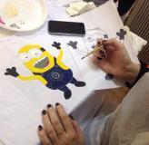 Мастер-класс по росписи футболок в Центр