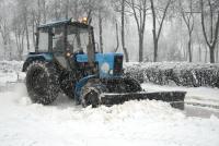 услуги трактора щеткой