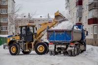 вывоз снега автотранспортом