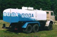 Доставка водопроводной воды. Спец машина