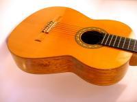 Концертная шестиструнная гитара мастера
