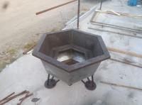 Банный чан из стали