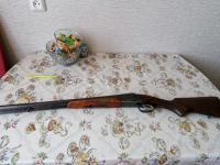 Ружье охотничье двуствольное
