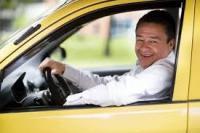 Водитель на такси