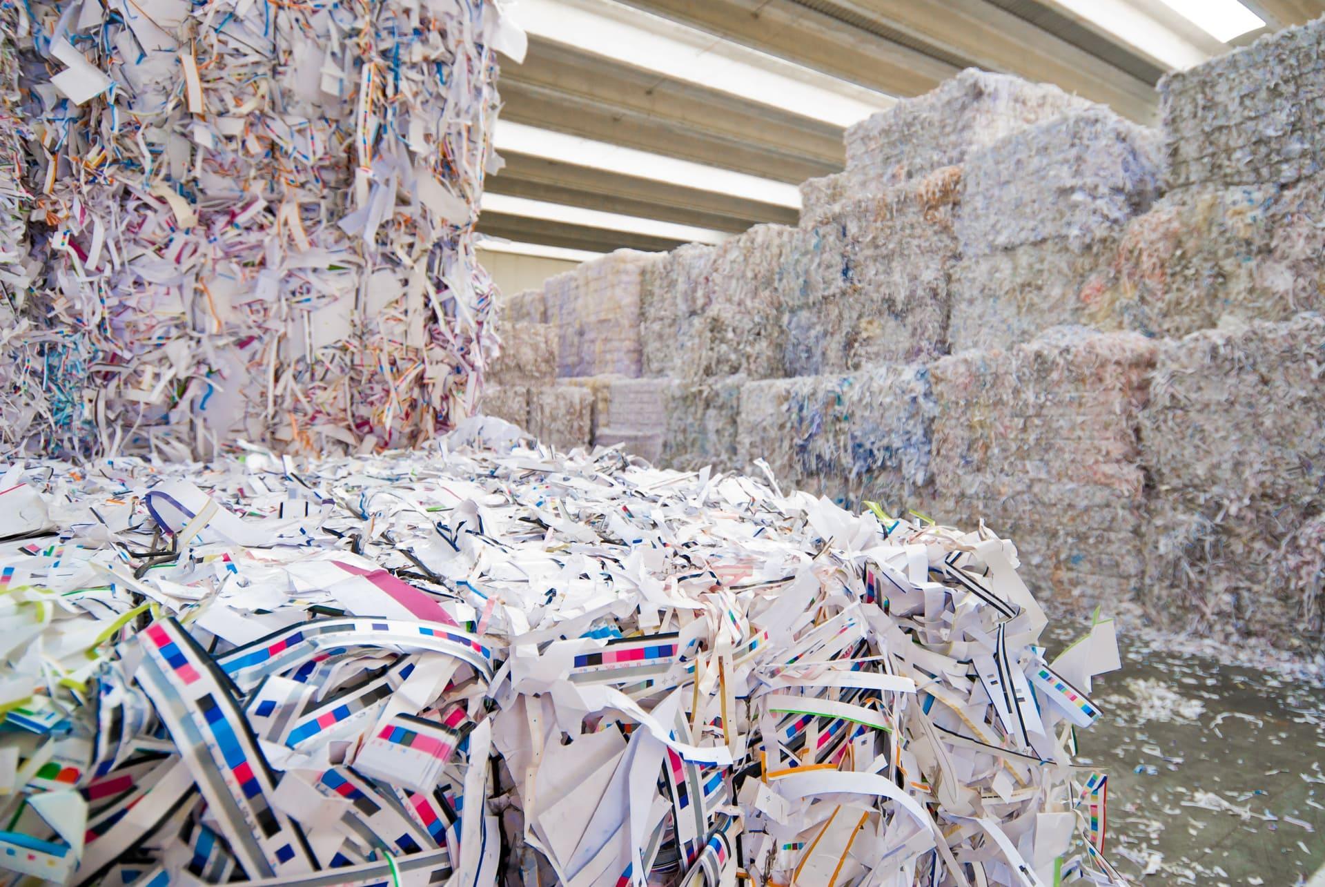 Картинка отходы бумага